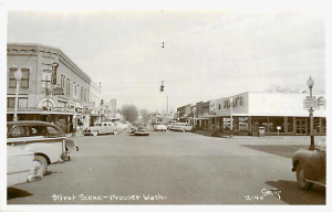 Downtown Prosser mid-1950s